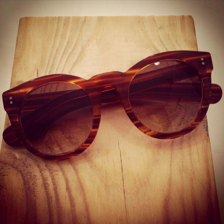 Gafas de sol acetato café