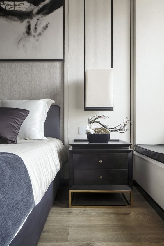 Get To Know Unique Nightstands For Your Bedroom In Mid Century,  Contemporary, Industrial
