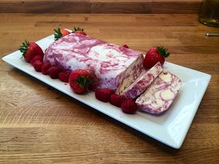 Diary of a Sauce Pot: Summer Berry Ripple Ice Cream Loaf
