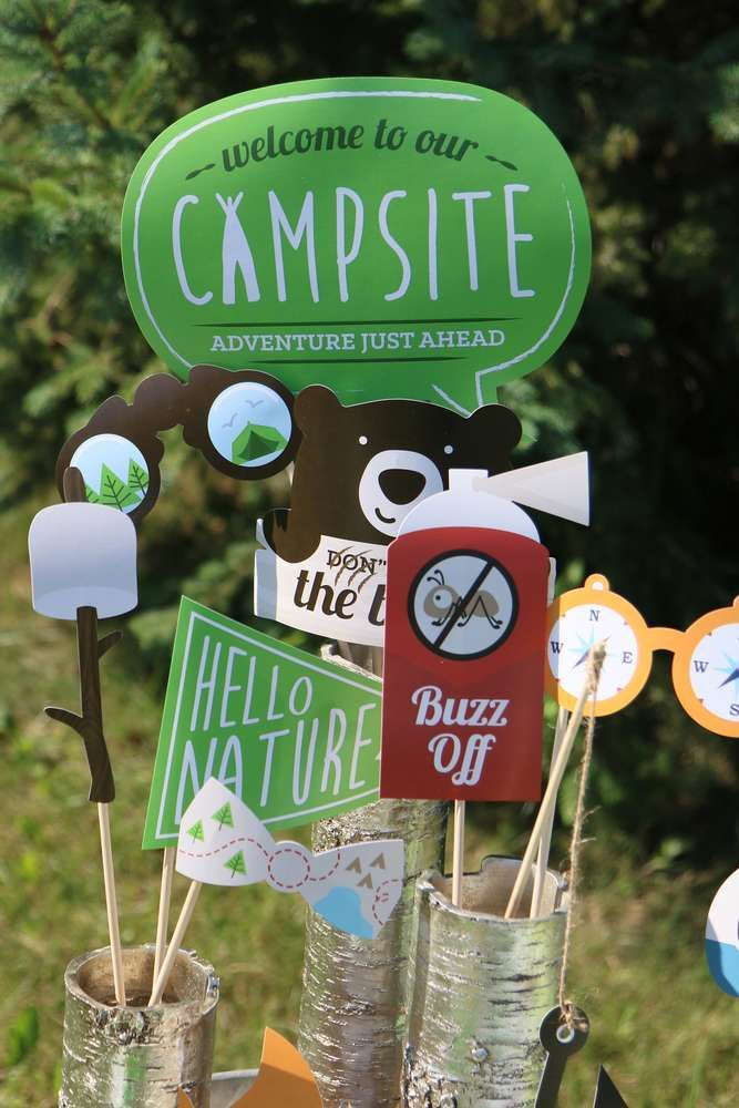 Camping Summer Camp Summer Party Ideas Camping Theme Party