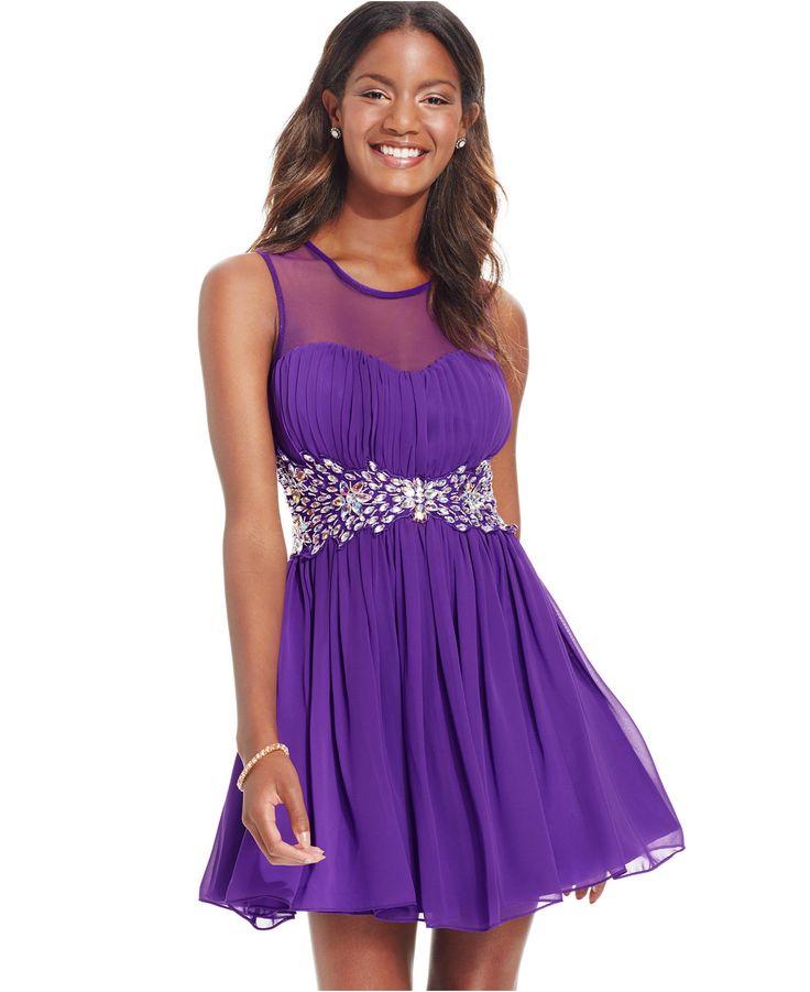 Mejores 13 imágenes de Macys dresses en Pinterest | Vestidos junior ...