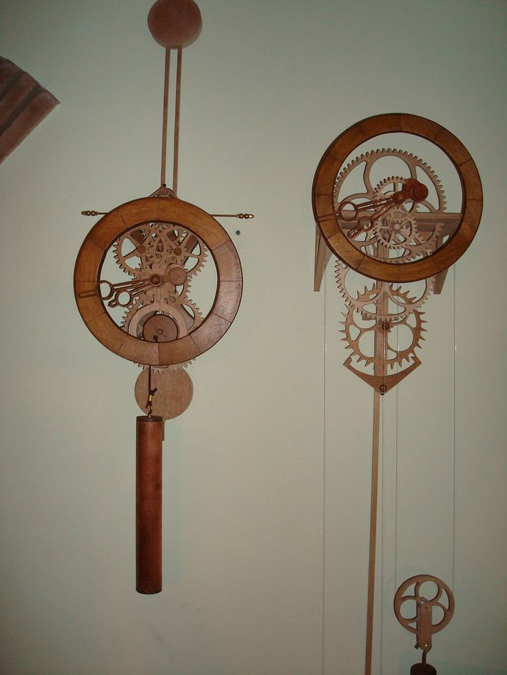 """https://flic.kr/s/aHsjt9dHaR   Simplicity Clocks   Clocks made from """"Simplicity"""" clock woodworking plans by Clayton Boyer.  Plans available at www.lisaboyer.com"""