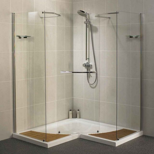 how to install a walk in shower kit