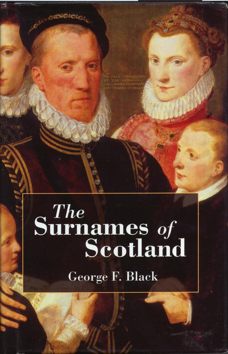 The Surnames of Scotland