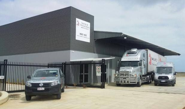 How fabulous does our new Geraldton Office look, with new trucks too! If you're moving from or within #Geraldton call 9965 1015 & speak to Shelly and the team! http://www.wridgways.com.au/geraldton.htm