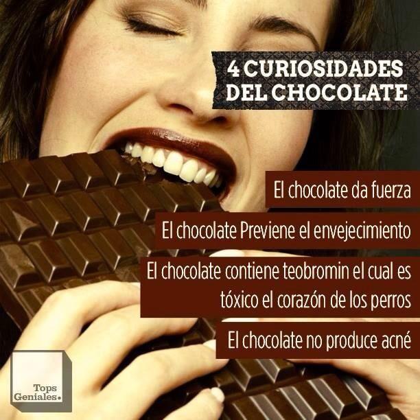4 curiosidades del chocolate.
