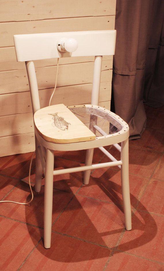 sedia comodino fish giulia una sedia che di papaiameccanica