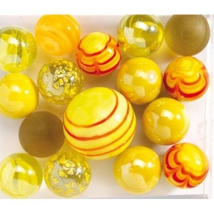 Delicious glass marbles - are they not wonderful? Each one unique.