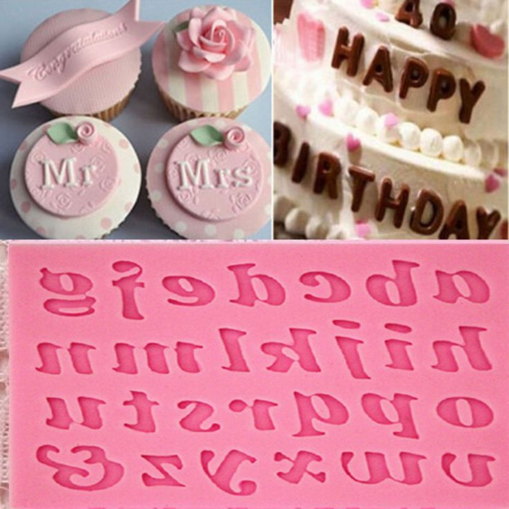 Letters Shaped Sugar Paste  Silicone Cake Mold 3D Fondant Cake Decoration Tool #clothing,#shoes,#jewelry,#women,#men,#hats,#watches,#belts,#fashion,#style