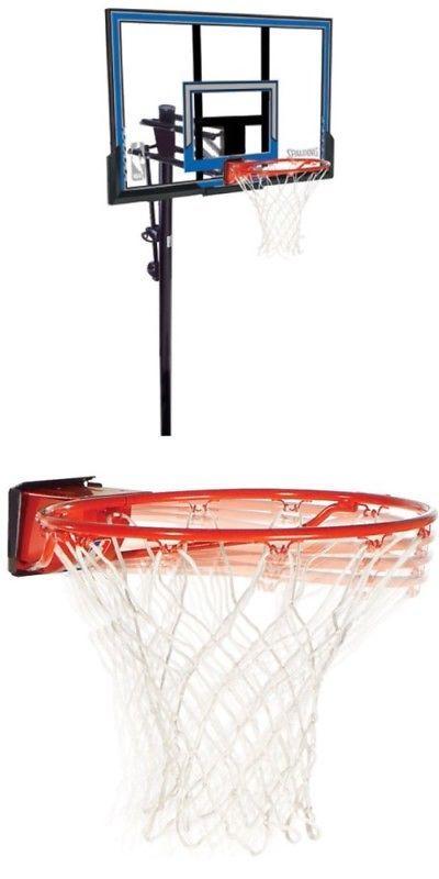 Backboard Systems 21196  Spalding In-Ground Basketball System 88349 50-Inch  Polycarbonate Backboard Goal -  BUY IT NOW ONLY   320.66 on  eBay  backboard  ... f2c49a91b