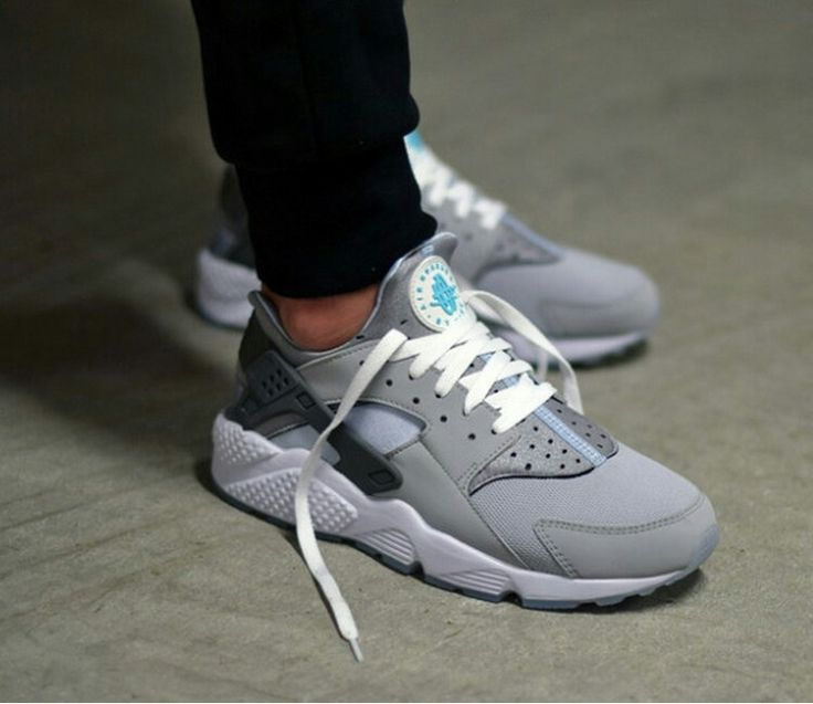 wolf grey nike huaraches women