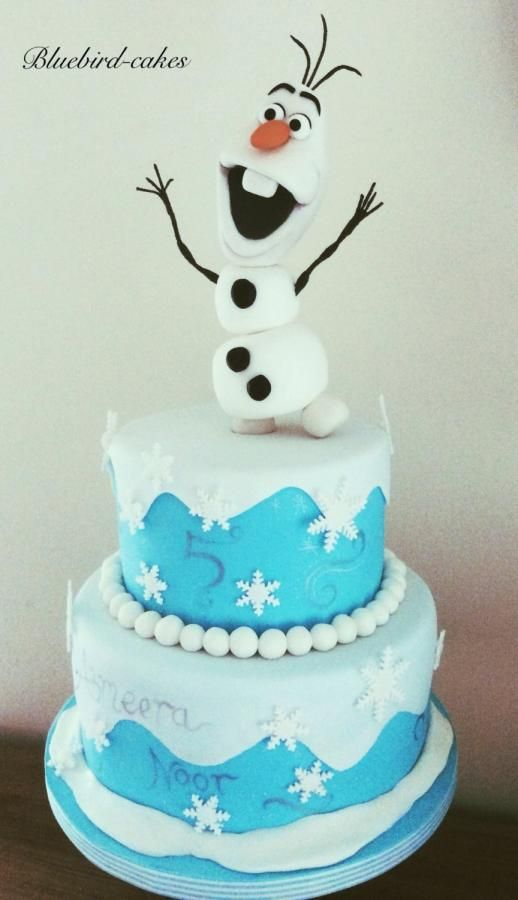 Olaf from Disney's Frozen by Zoe Smith