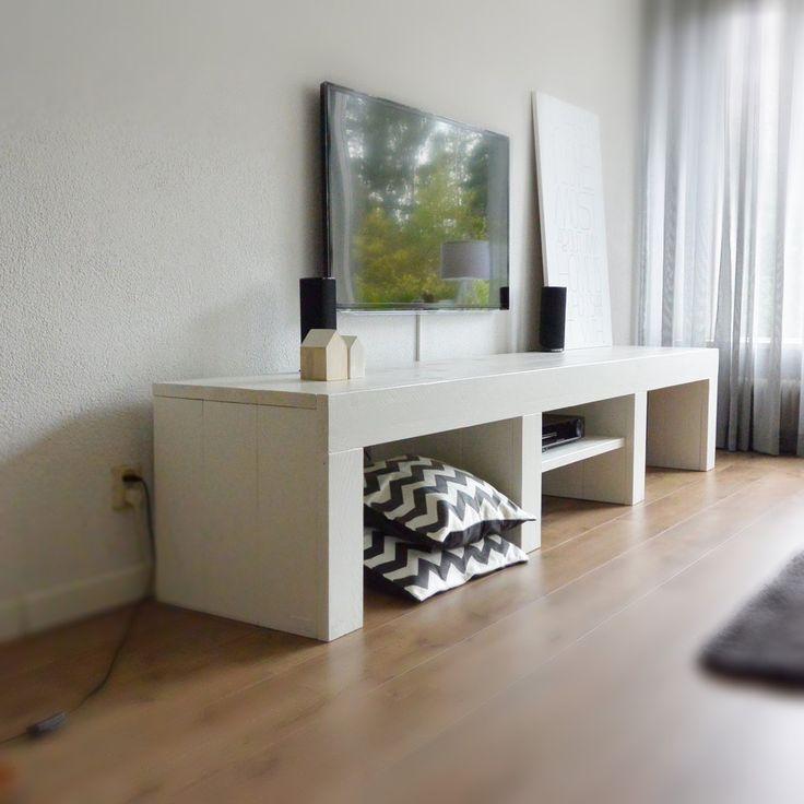 TV Meubels - Stijlvol en volledig op MAAT te bestellen van steigerhout!