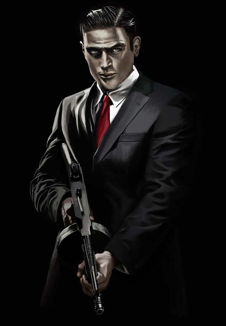 Mafia 2 Artwork | Vito from Mafia II game by kartjeeva