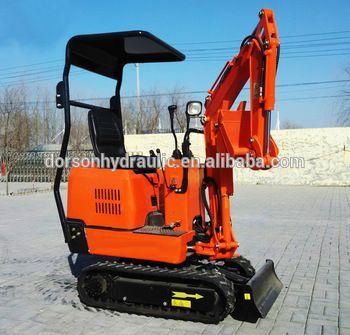 Wonderful operating character 0.8ton mini crawler excavator for sale