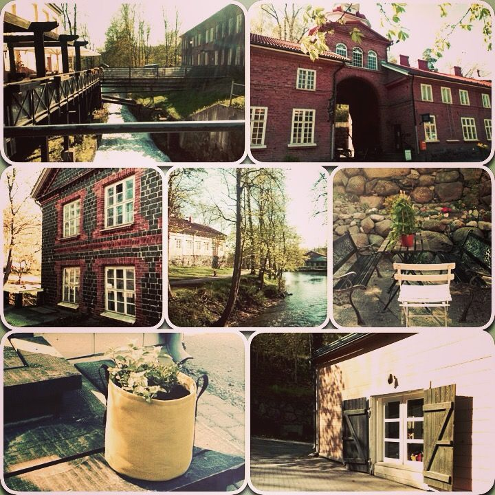 Fiskars Village in Southern Finland