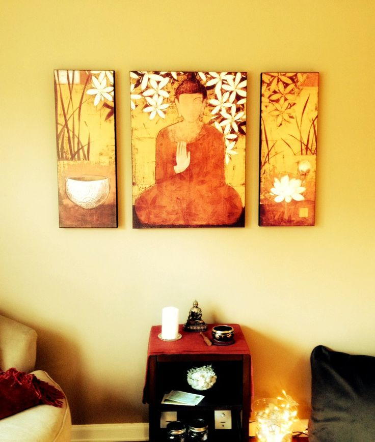 Loving this new art for my #meditation space!