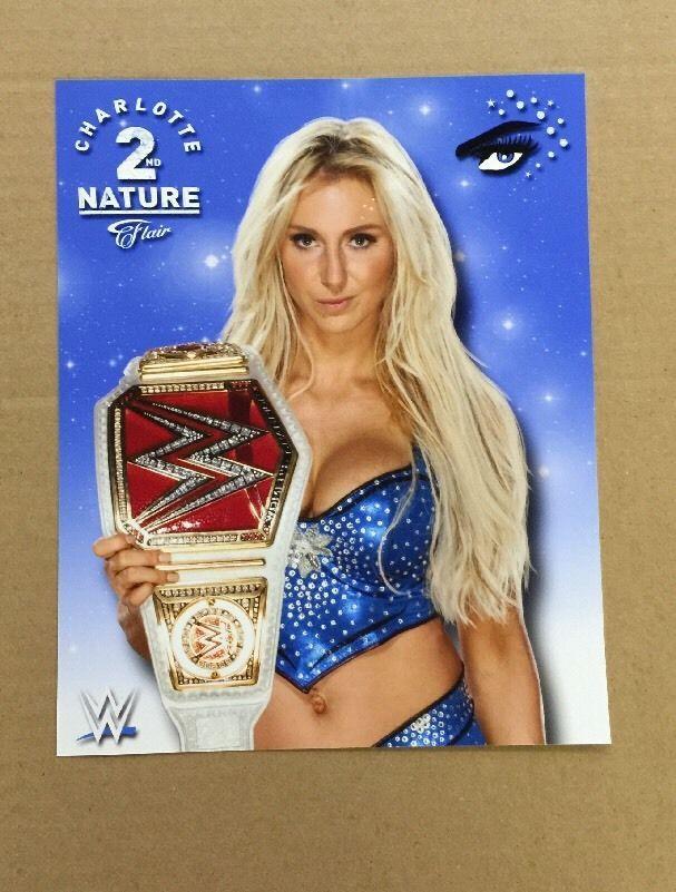 Charlotte WWE 8x10 Photo Wrestlemania Divas Womens Champ NXT Flair Sasha - http://bestsellerlist.co.uk/charlotte-wwe-8x10-photo-wrestlemania-divas-womens-champ-nxt-flair-sasha/