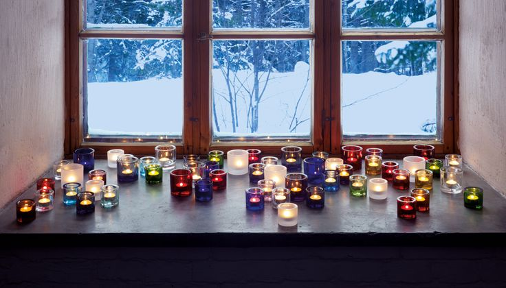 Iittala kivi candle holders. At present I have one of these, so I'll be needing approximately 30 more.