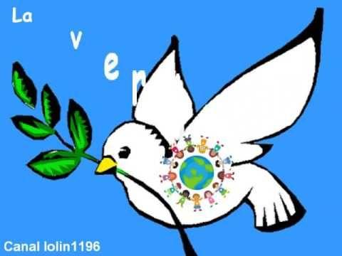 Canción para el día de la Paz. Palomas de la PAZ - YouTube