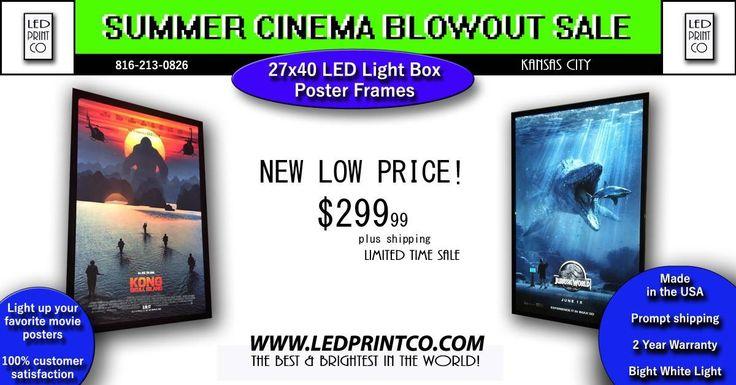 45 best Cinema Light Box Poster Frames images on Pinterest ...