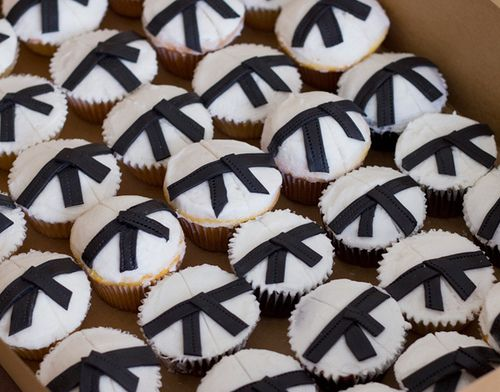 Karate Cupcakes | Flickr - Photo Sharing!