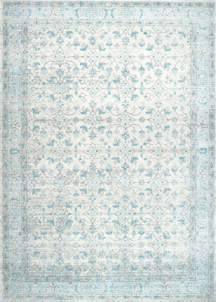 Bring in a sense of vintage flair to any living space with this machine-made area rug that is soft, plush and low on pile. The 100% polypropylene rug is easy to maintain, feels great underneath your feet and works well for bedroom, living room and dining room.