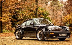 Обои 1989, porsche, 911, turbo, coupe, limited edition, 930, порше