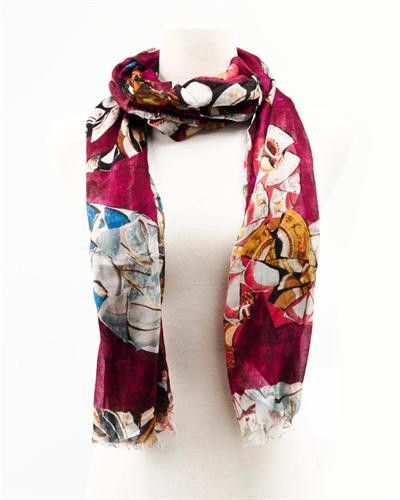 Galliano Printed Scarf - Made in Italy
