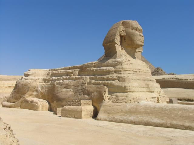 Sphinx (Egypt): The Sphinx, Old Kingdom, Egypt
