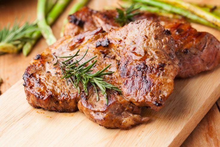4 boneless pork chops ¼ C. balsamic vinegar 3 tbsp. honey 2 garlic cloves, minced ½ tsp. dried oregano ½ tsp. dried basil ½ tsp. dried thyme 1 tsp. crushed red pepper flakes Sea salt and freshly gr…