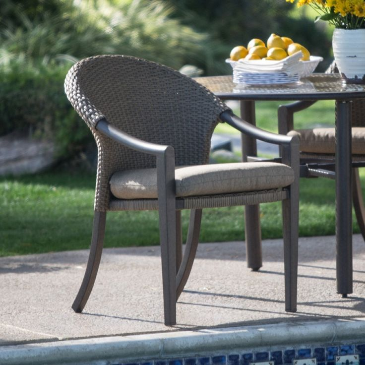 belham living crayton wicker dining chairs with cushions set of 4
