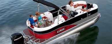 Lowe Pontoon Boats X-Series X210