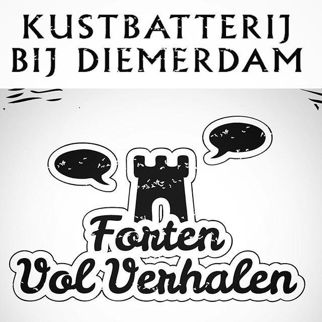Straks om 14 uur een nieuwe editie van het storytelling festival #FortenvolVerhalen, dit keer op de #KustbatterijbijDiemerdam: stempel #Stampions en verdien naast een fortenstempel ook de event badge-stempel (20 stempels = prijs) #StellingvanAmsterdam #Diemen #forten