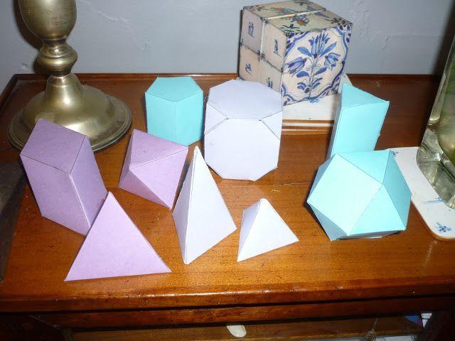 Montessori avec les 6-12 ans: géométrie