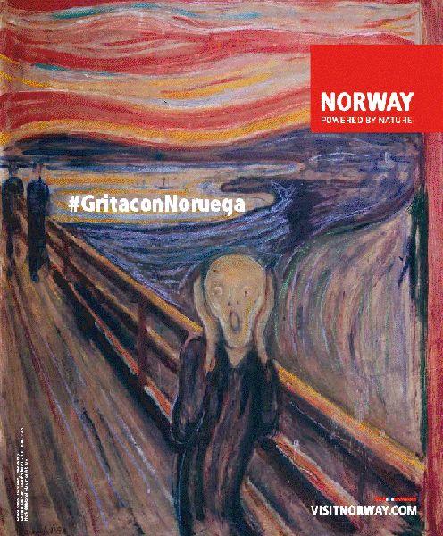 """¿Te apetece participar en el grito más largo del mundo? ¿Y ganar un viaje a Noruega?    Si la respuesta a estas dos preguntas es sí…    Deja de leer  Ve a twitter  Y tuitea desde tu cuenta lo que está entre comillas: """"Grita conmigo! Quiero a ir a Noruega! #GritaconNoruegaElpachinko http://www.visitnorway.com/es/el-grito/"""""""