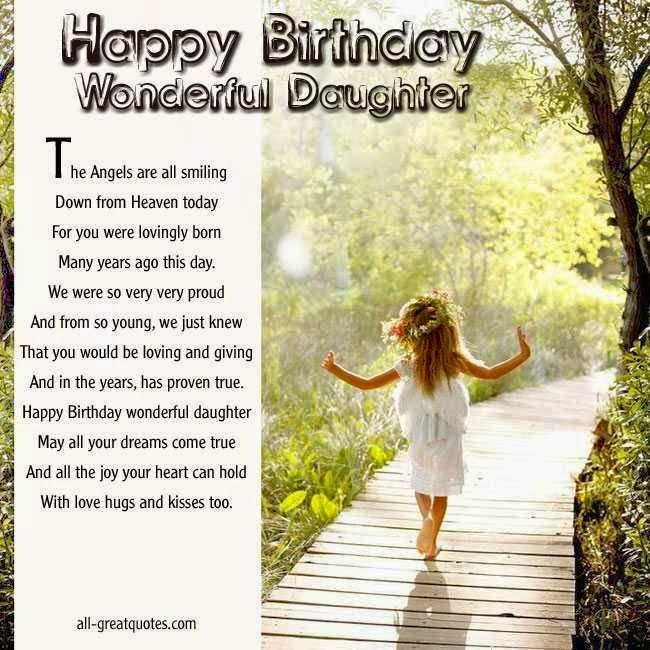 The 25 best Birthday wishes daughter ideas – Happy Birthday Greeting Cards for Friends