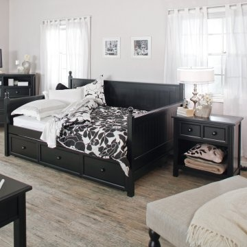 casey daybed full black 3