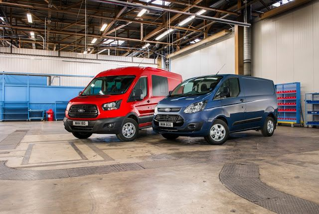 Ford Transit & Transit Custom με νέους κινητήρες Ford EcoBlue