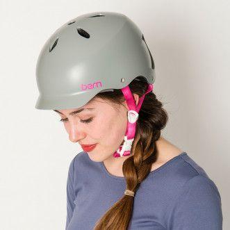 Bern Lenox ladies bike helmet- Graphite Grey