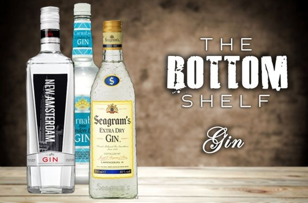 The Bottom Shelf: Guide to Buying Cheap Gin