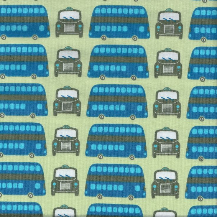 Get Around Downtown - Green - Stenzo Jersey Knit