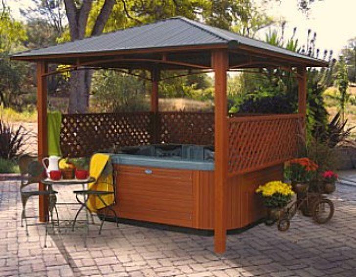 Hot Tub Ideas Backyard backyard hot tub ideas Best 16 Outdoor Hot Tub Landscaping Ideas Door Decorate