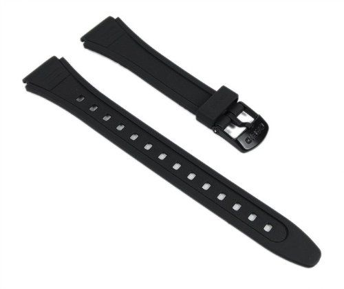 Casio watch strap watchband Resin Band black 18mm W-201-1AVEF W-201 W-201G-9. Casio watch strap watchband Resin Band black W-201-1AVEF W-201-2 W-201G-9 Casio BandNr.: 10162570 match: W-201-1AVEF W-201-1AVW W-201-1AVUWDF W-201-1AVWCF W-201-2AVUWDF W-201-2AVWCF W-201G-9AVUWD W-201G-9AVWCF Band width innen: ca. 18 mm Band width fromen: ca. 22,5 mm Armbandmaterial: Resin Armbandfarbe: black Armbandschließe: buckle, black SchließenWidth: ca. 16 mm Armband Stärke: ca. 2 mm Armbandlänge: bis ca....