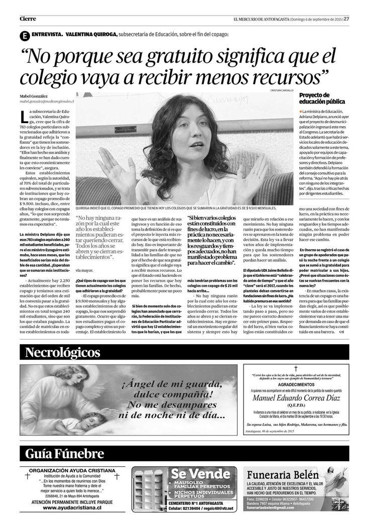 Página 27 | El Mercurio de Antofagasta - 06.09.2015