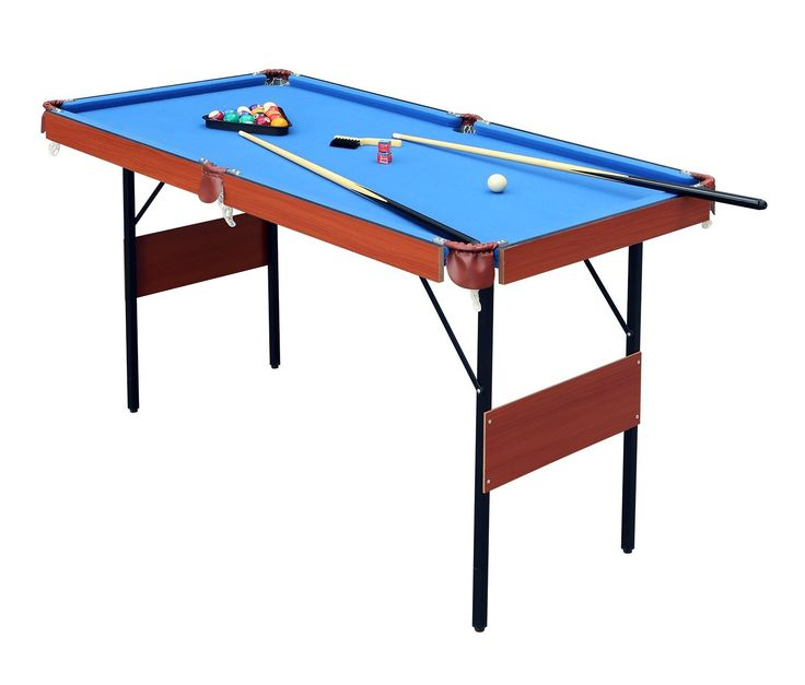 HLC 55″ Folding Space Saver Pool Billiard Table Review – The Complete Table