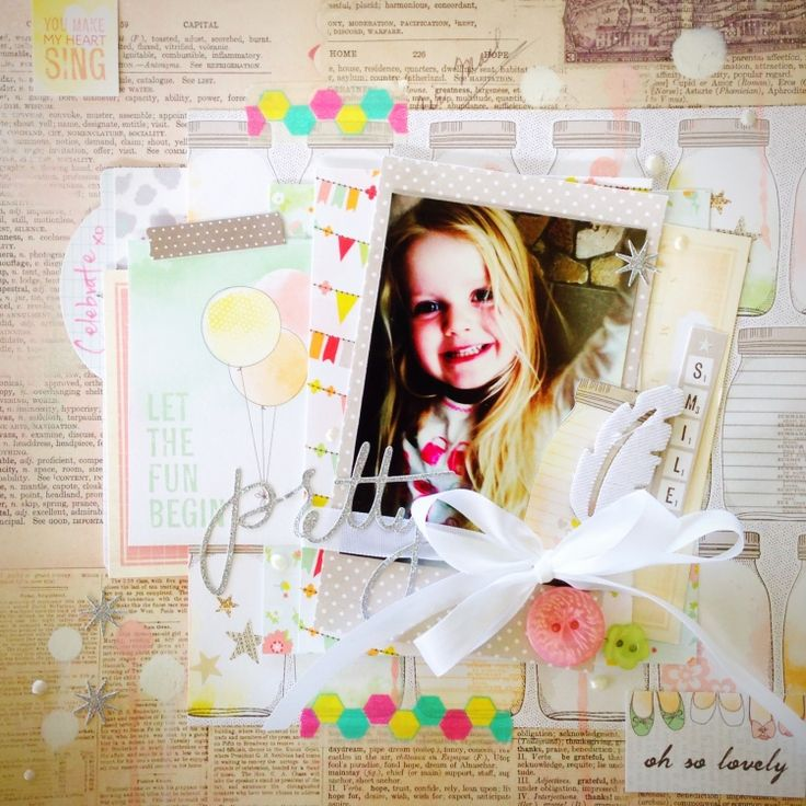 I'm in love with this girl's work. Jot Girl Lauren Hender shares her layout as seen in Jot Issue 4.