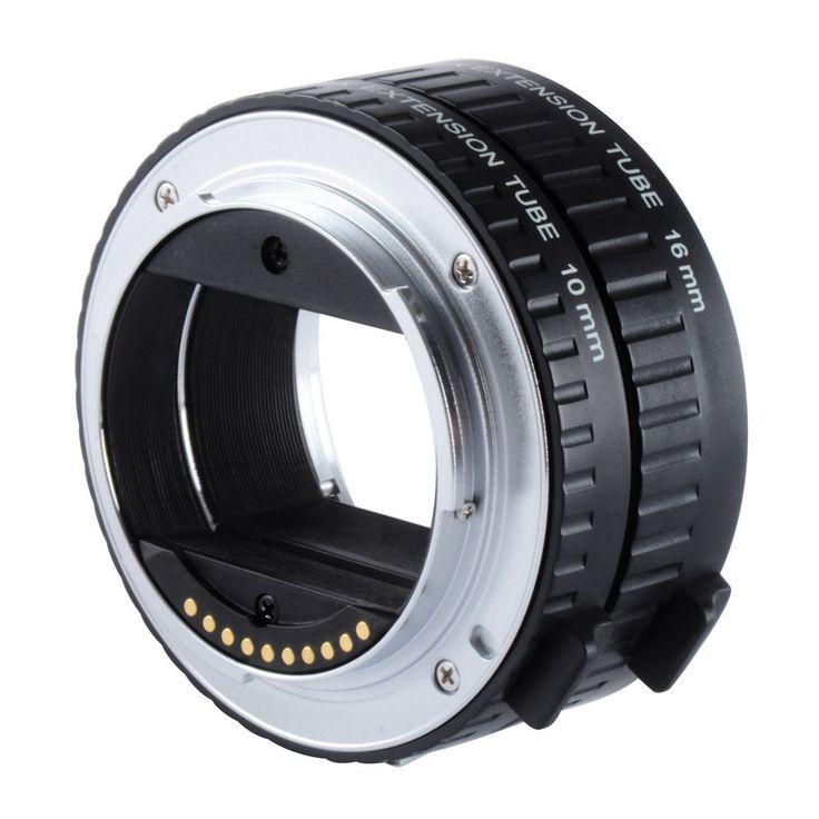 Viltrox DG-NEX Auto Focus AF Extension Tube Ring 10mm 16mm Set Metal Mount for Sony E-mount Lens