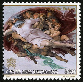 Postal Museum stamps of the Vatican Catholic School Curriculum