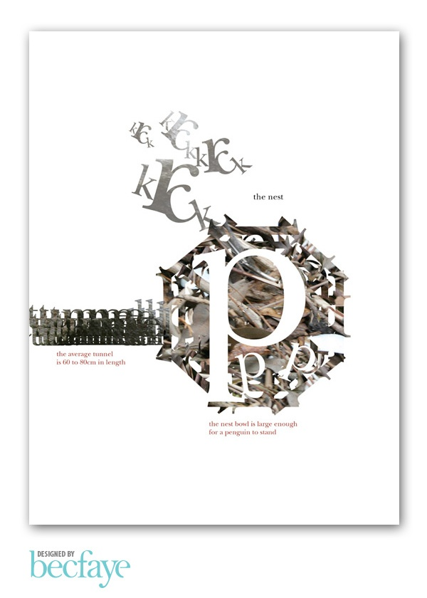 EXPERIMENTAL TYPOGRAPHY :: The Nest